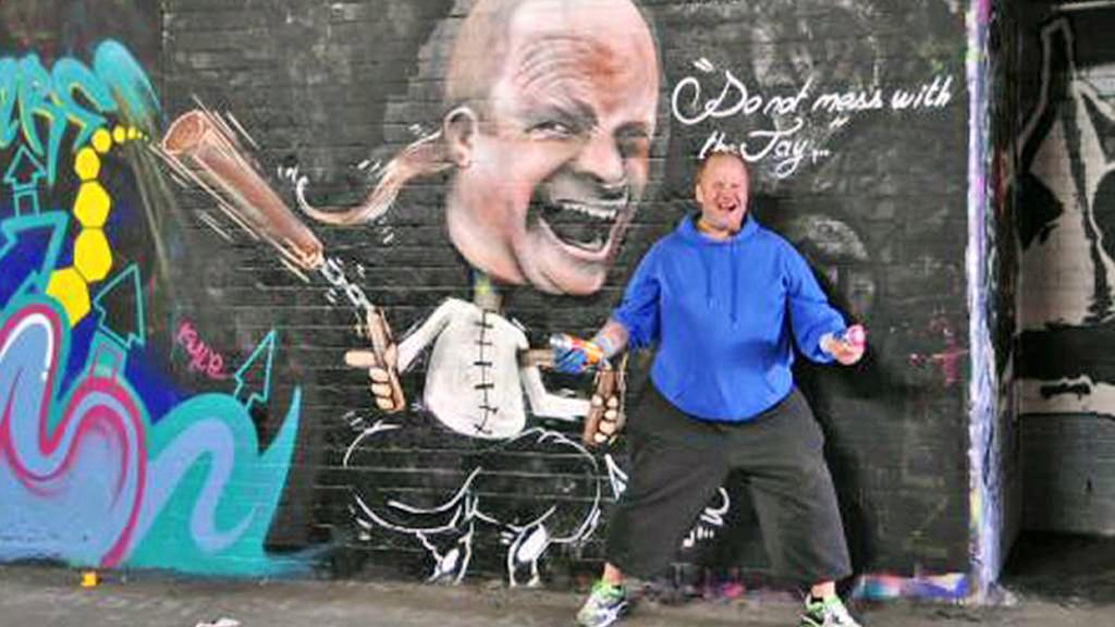 Graffiti v Británii