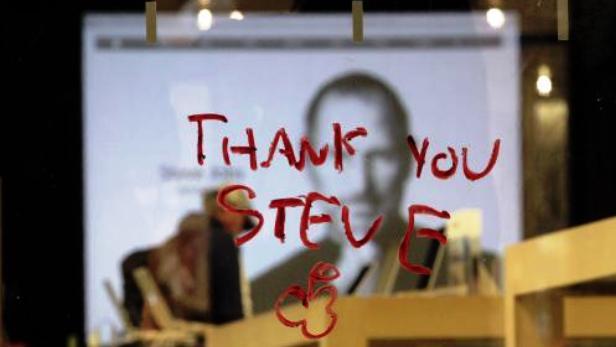 Vzkaz od obdivovatelů Steva Jobse