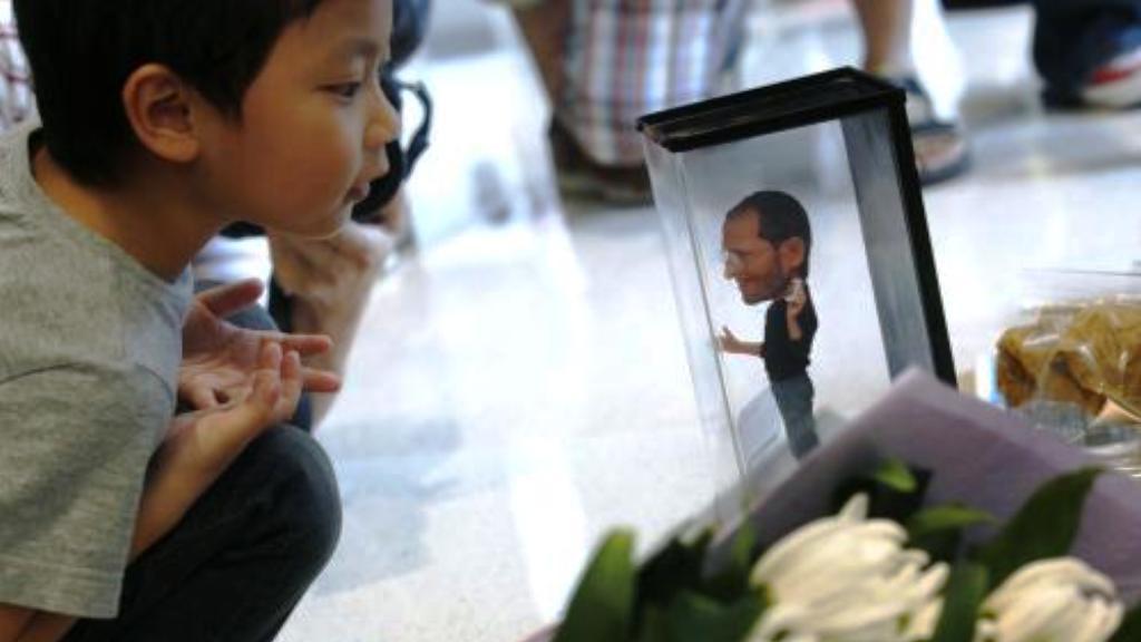 Uctění památky Steva Jobse