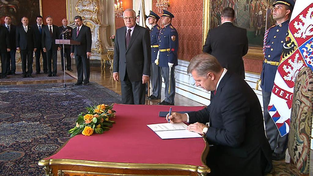 Bendl jmenován ministrem