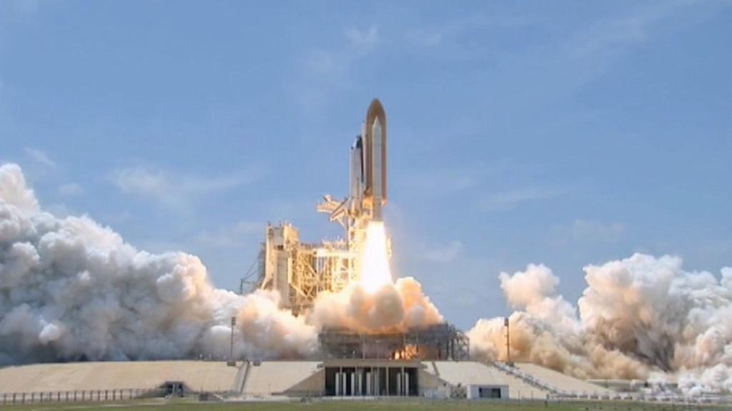 Vzlet rakety