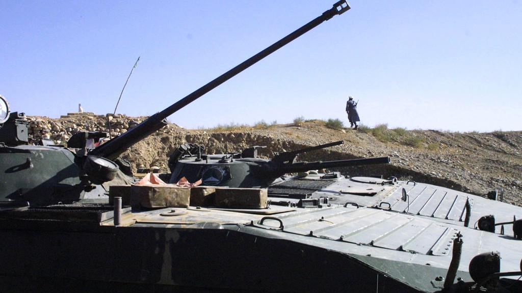 Válka v Afghánistánu, říjen 2001