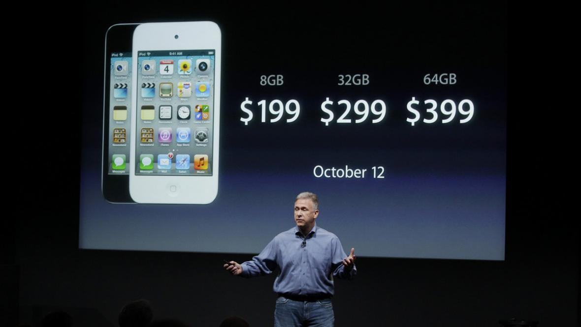 Uvedení Iphone 4s