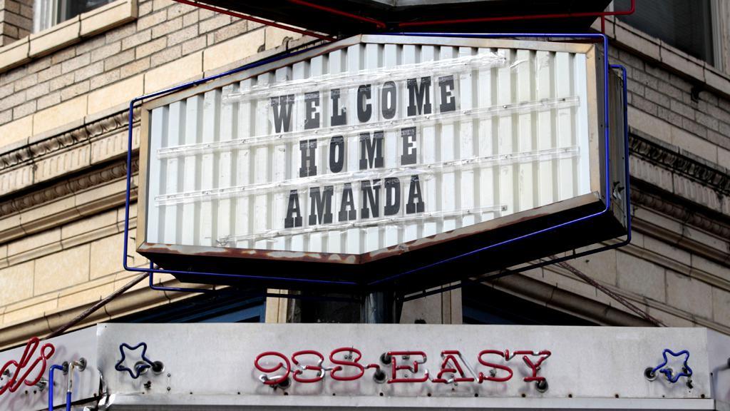 Uvítání Amandy Knoxové v Seattlu