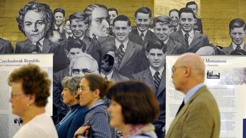 Výstava o životě Woodrowa Wilsona a T. G. Masaryka