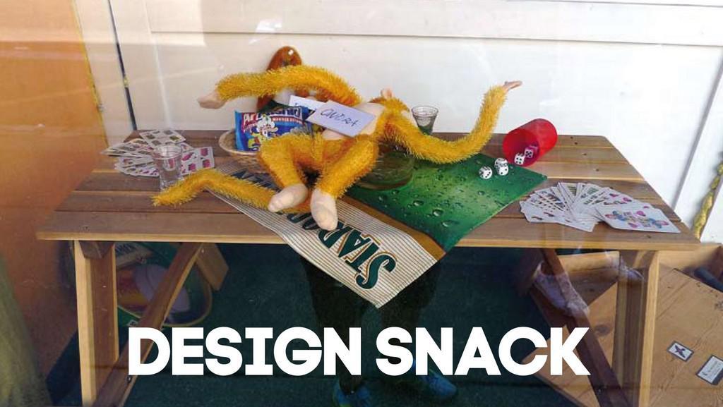 Design Snack na VŠUP