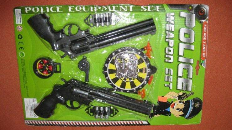 Nebezpečné dětské pistolky