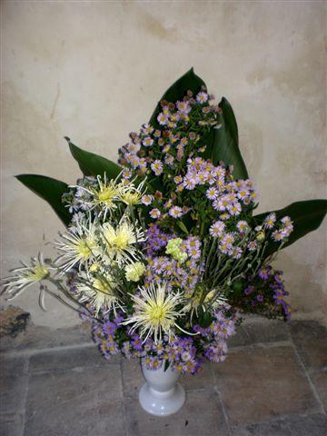 Z květinového víkendu na zámku Jezeří