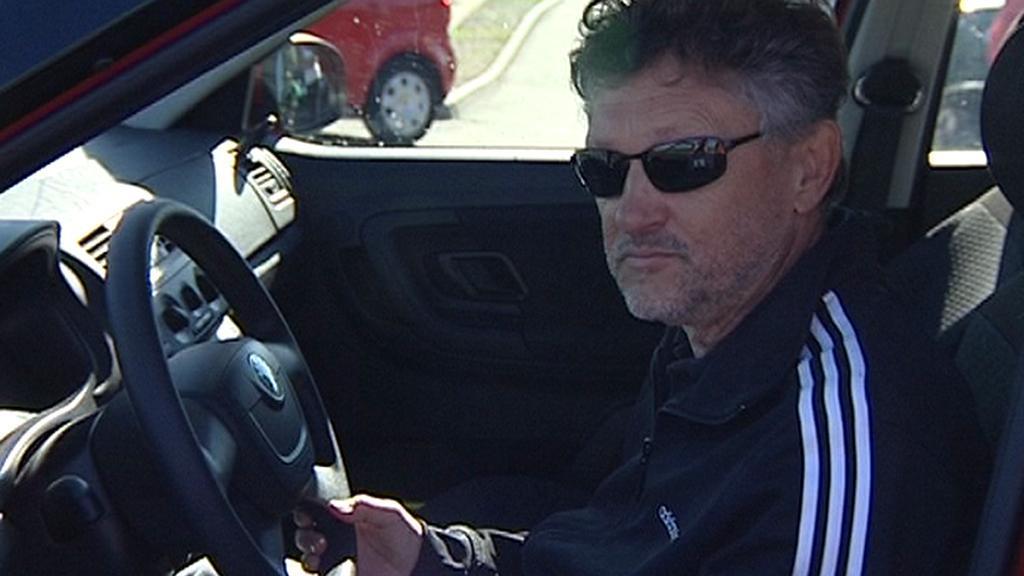 Nevidomý řidič Jindřich Sobotka
