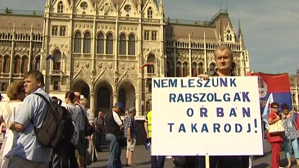 Protesty v Maďarsku