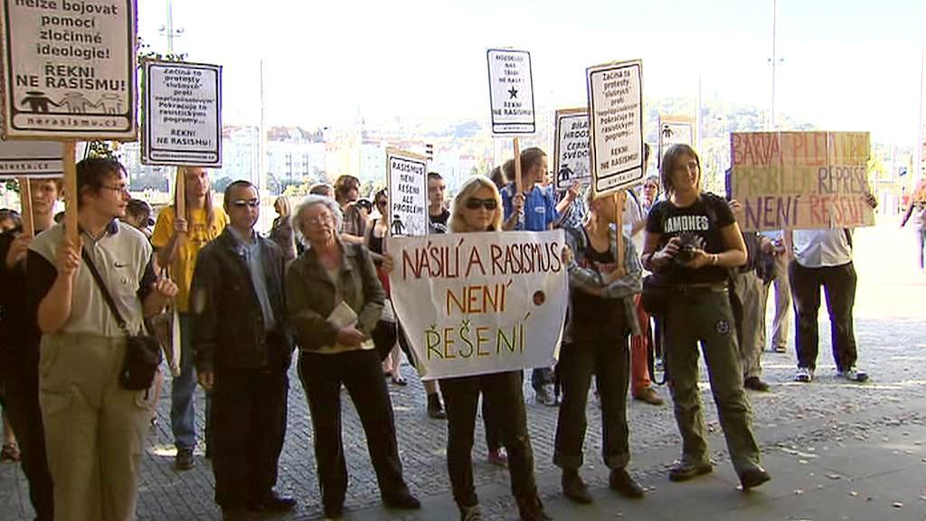 Demonstrace proti rasismu