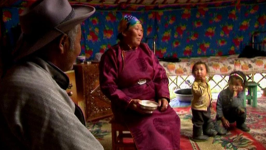 Rodina Mongolů