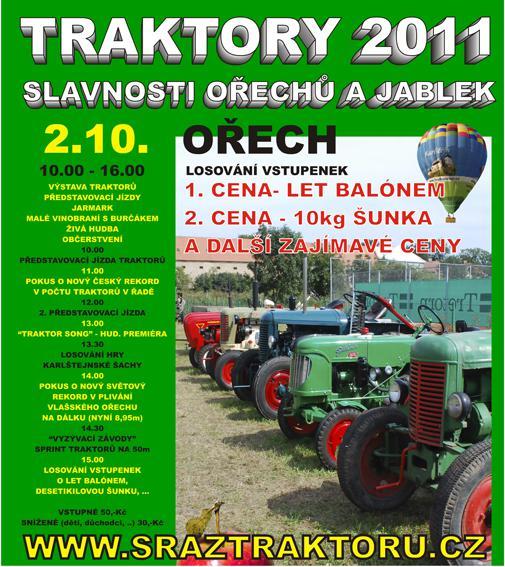 Plakát - Traktory 2011