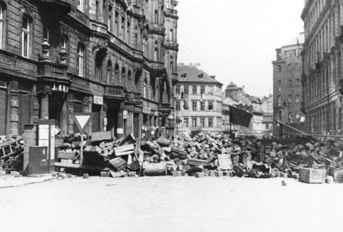 Barikáda během Pražského povstání