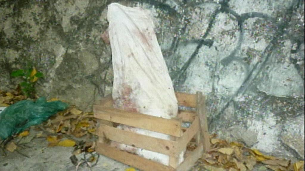 Uřezané hlavy nalezené u mexické školy
