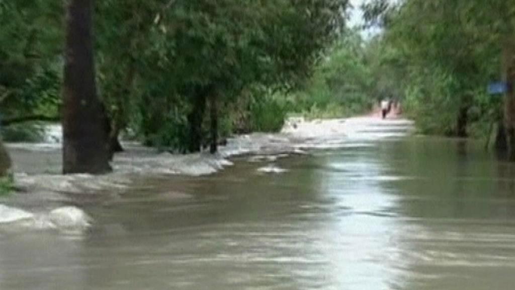 Rozvodněný Mekong