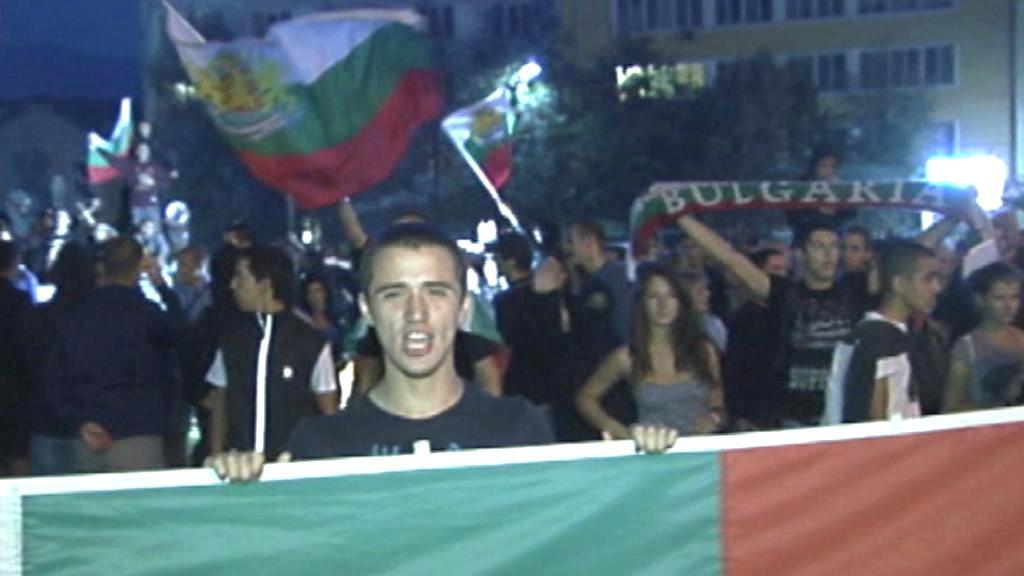 Protesty proti Romům