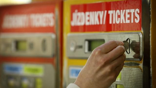 Kupování jízdenky