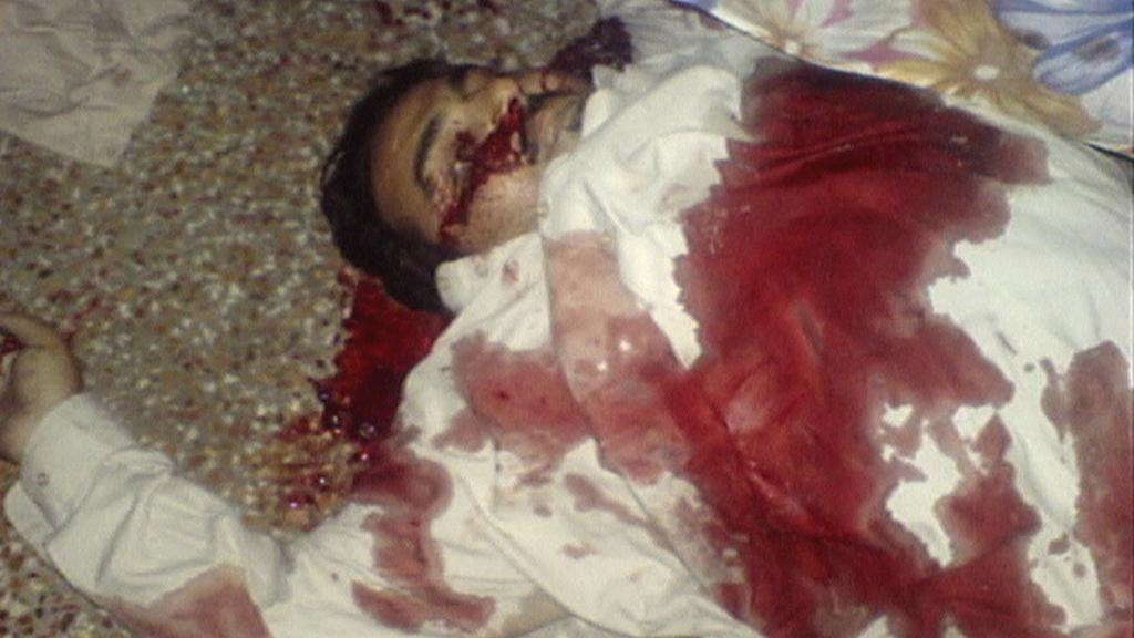 Zastřelení členové  rodiny Usámy bin Ládina