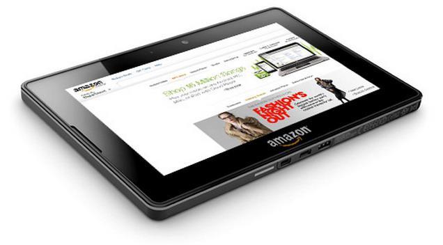 Maketa tabletu Kindle Fire