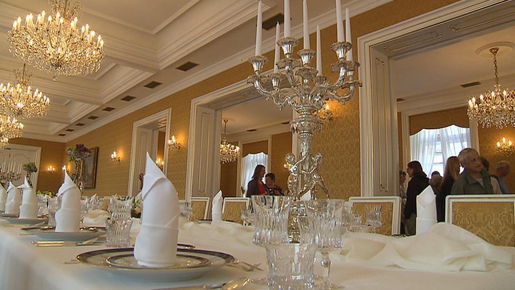 Interiér Lichtenštejnského paláce