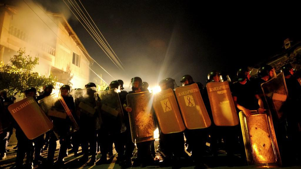 Protiromské protesty v Bulharsku