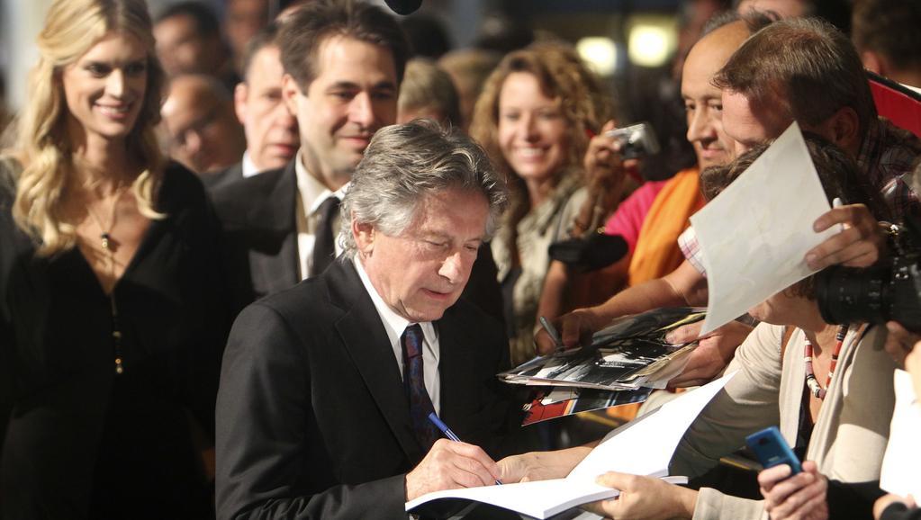 Roman Polanski na filmovém festivalu v Curychu