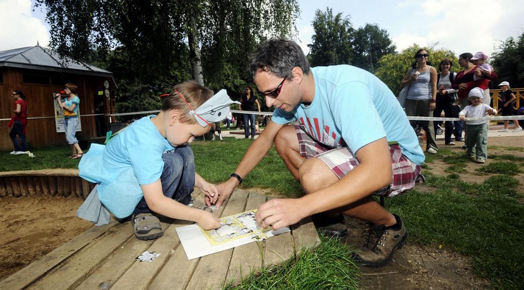 Den otců v pražské zoo
