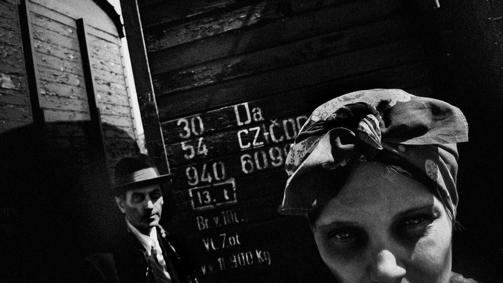 Z výstavy Alois Nebel ve fotografiích