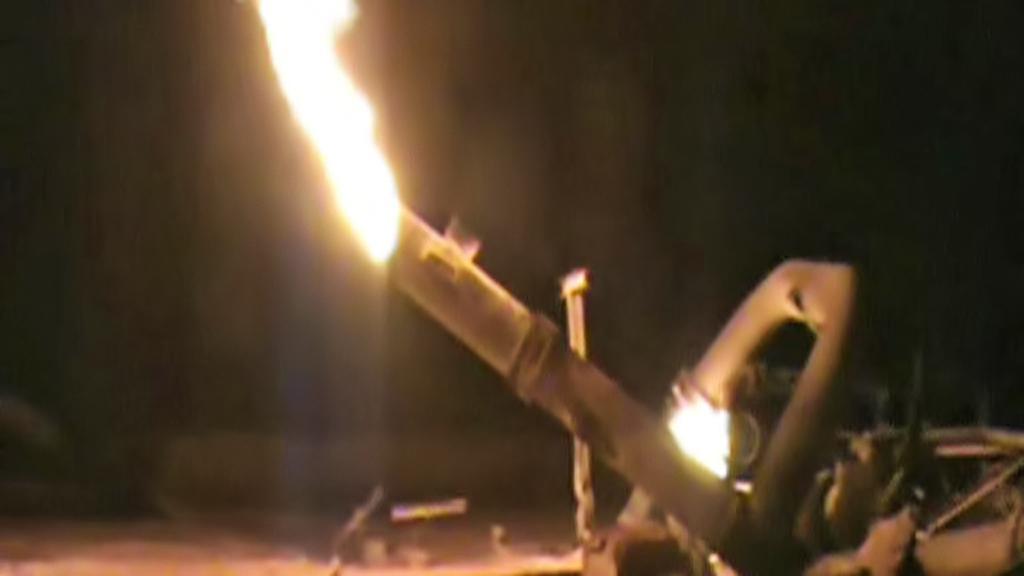 Výbuch plynovodu u Ariše