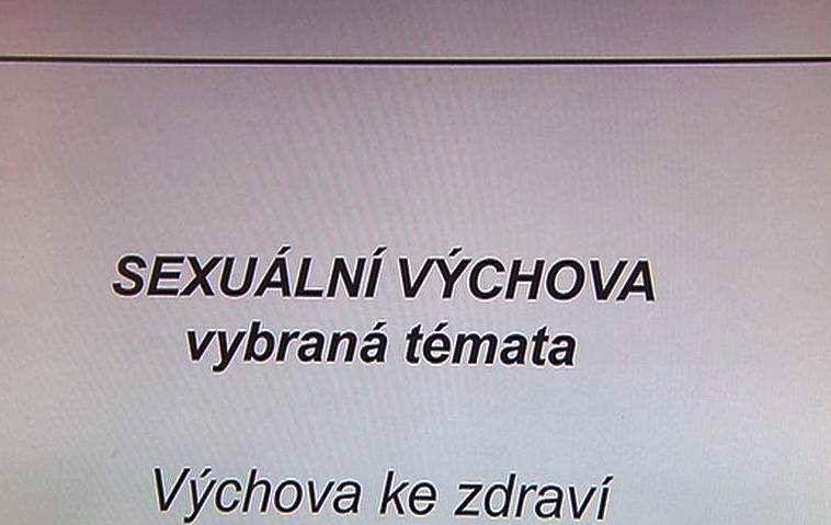 Skripta k sexuální výchově