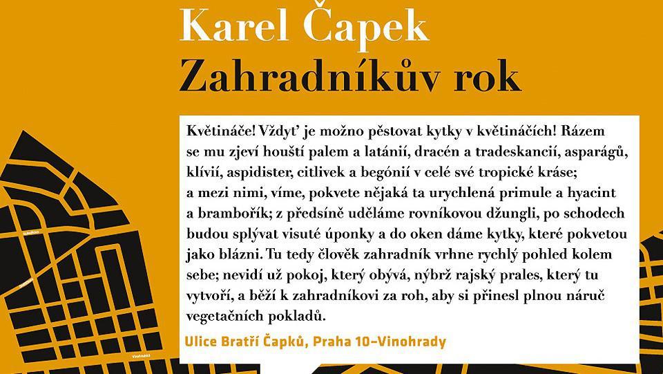 Praha město literatury / literární stezka