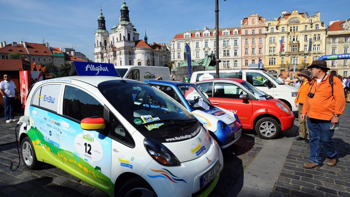 Evropský závod elektromobilů