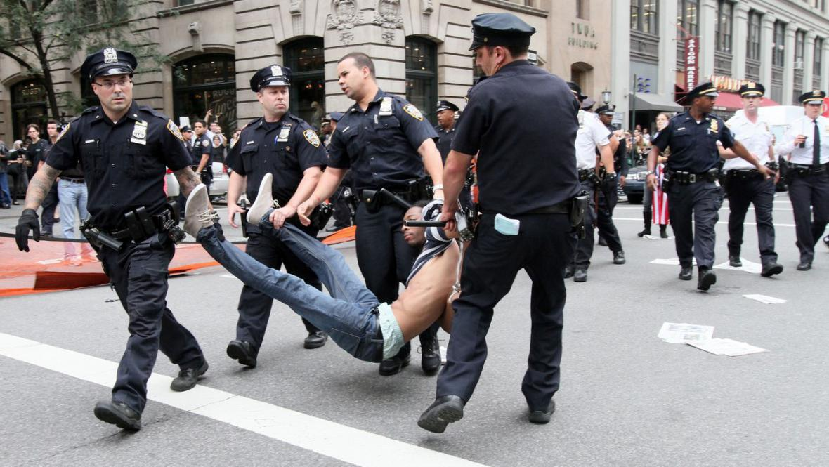 Protesty na Wall Street