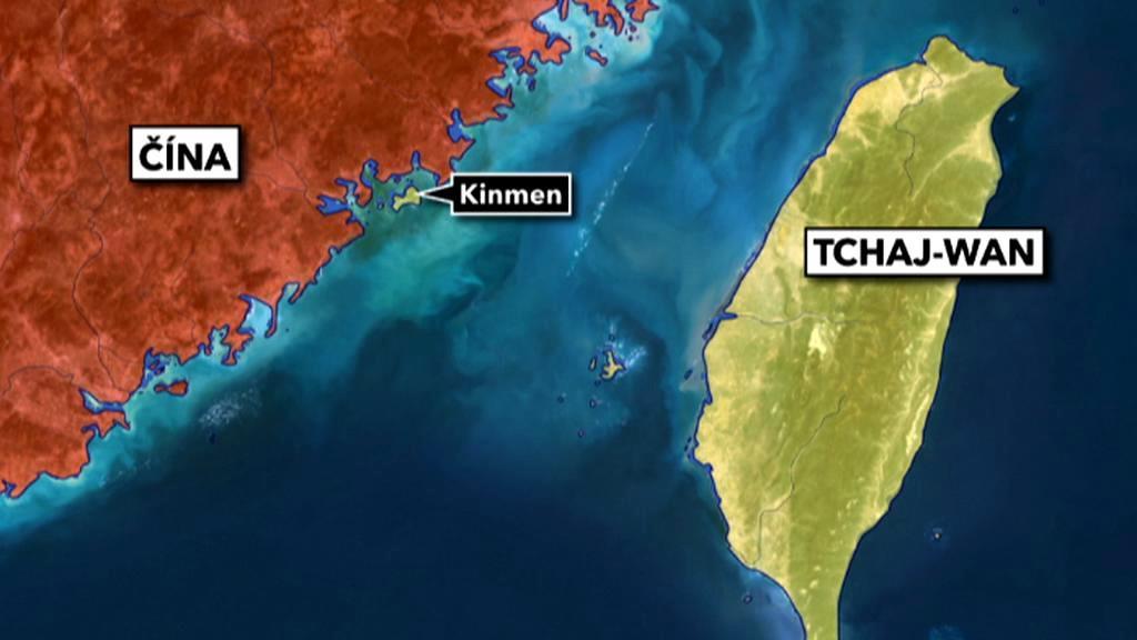 Ostrov je od Číny vzdálen jen 5 km