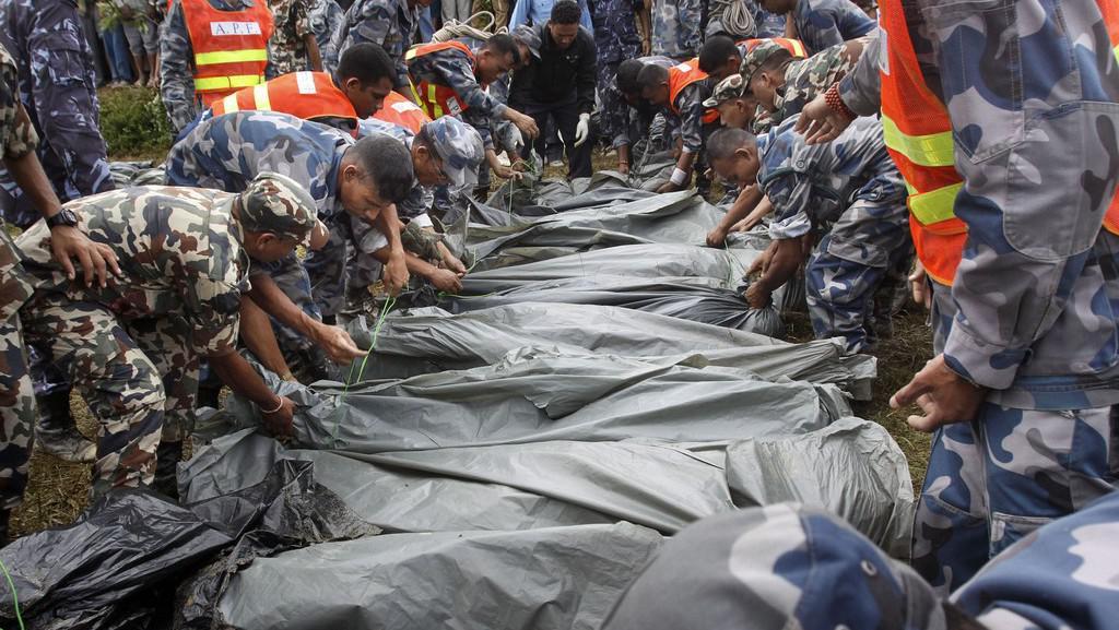 Oběti nehody letadla v Himalájích