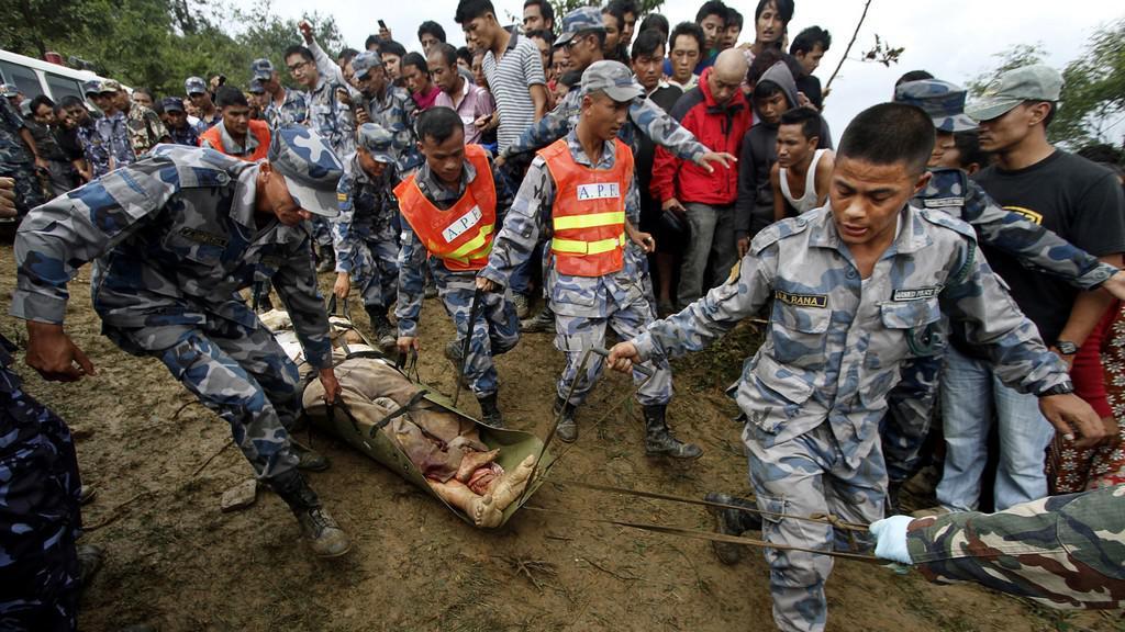 Nehoda letounu v Nepálu