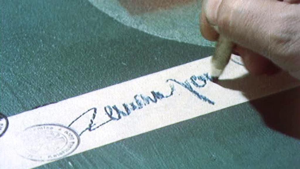 Podpis majora Zemana