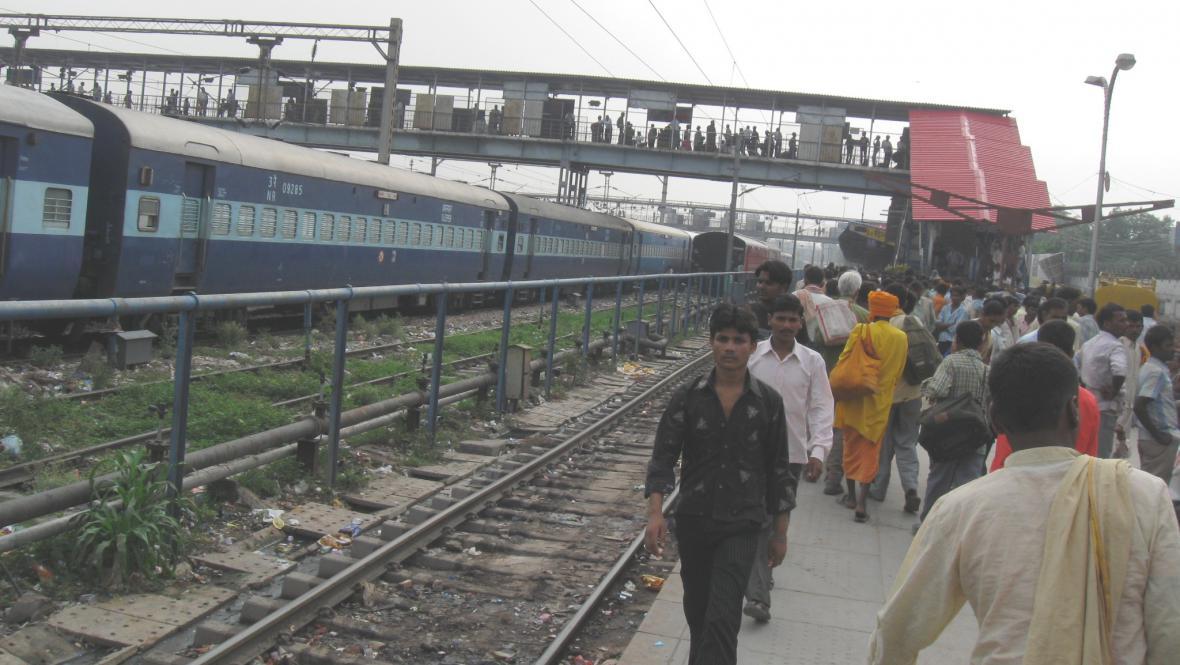 Vlakové nádraží v Dillí