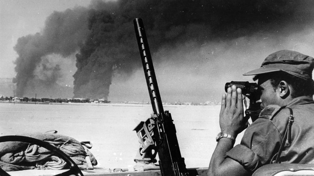 Izraelský voják během šestidenní války