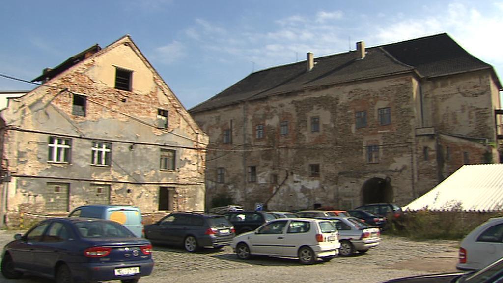 Kolínský zchátralý zámek