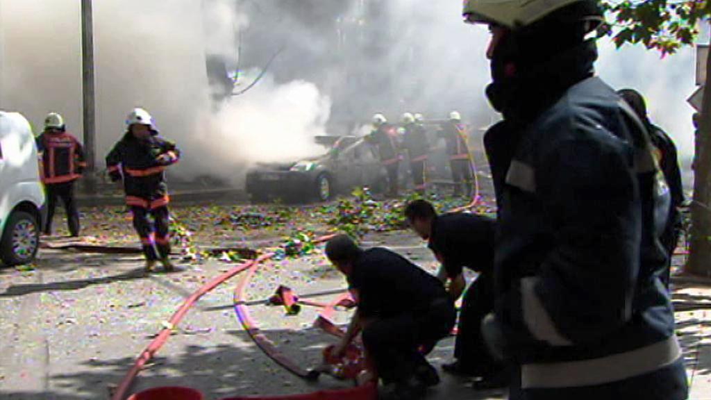 Výbuch v Ankaře