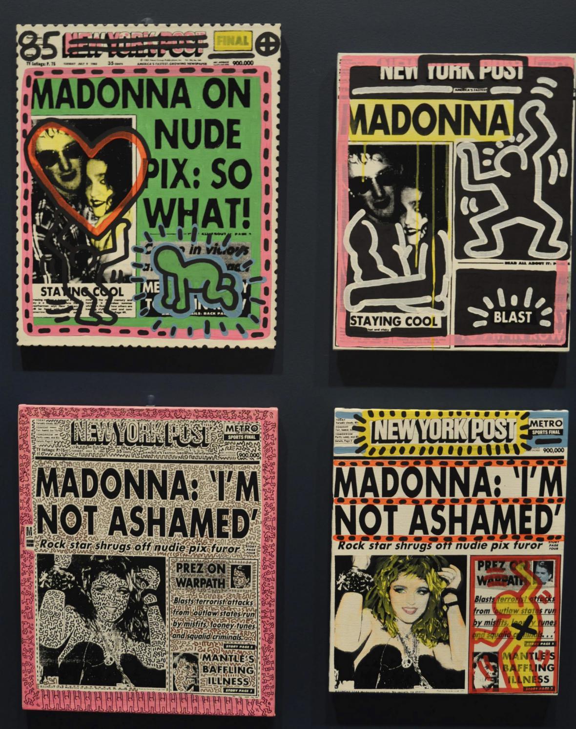 Dílo Andyho Warhola a Keithe Haringa