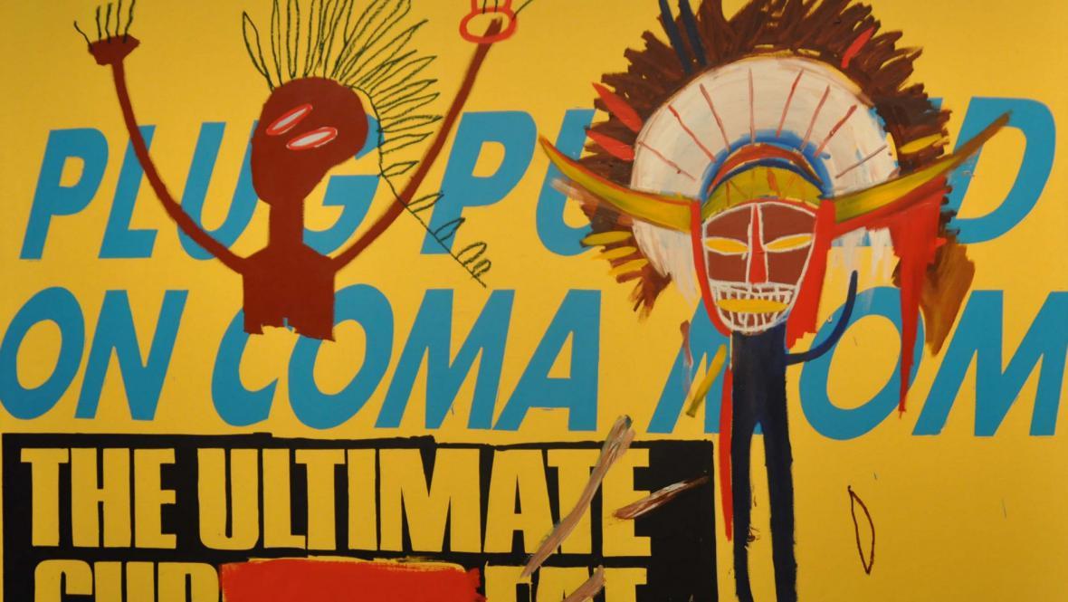 Dílo Andyho Warhola a Jeana-Michela Basquiata