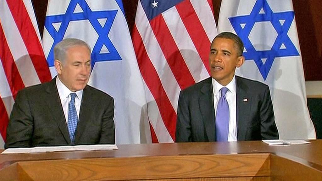 Benjamin Netanjahu a Barack Obama