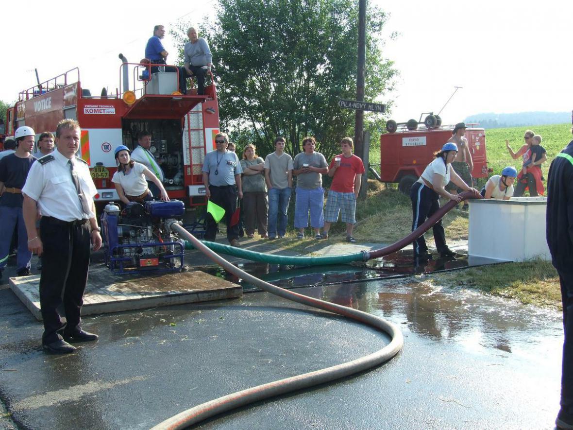 Benešovská hasičská liga - Jiřetice