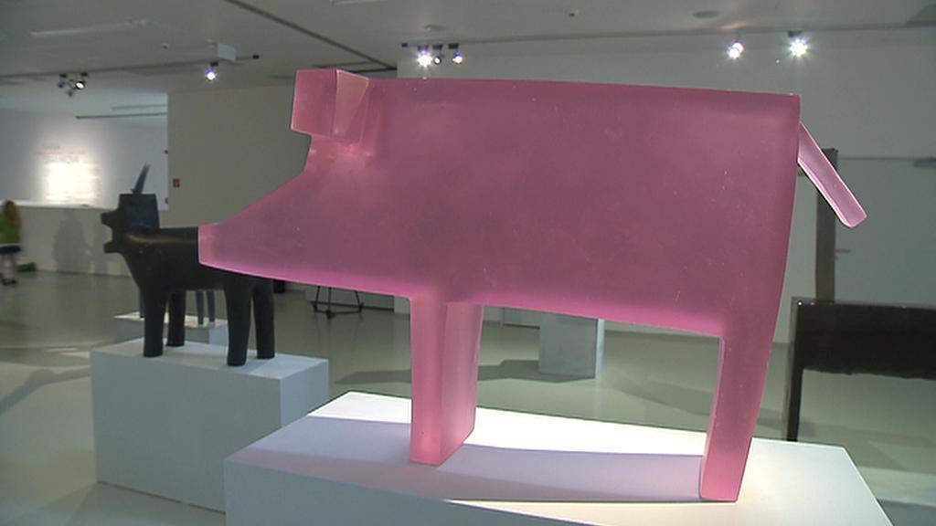Plastiky sochařky Ivany Šrámkové