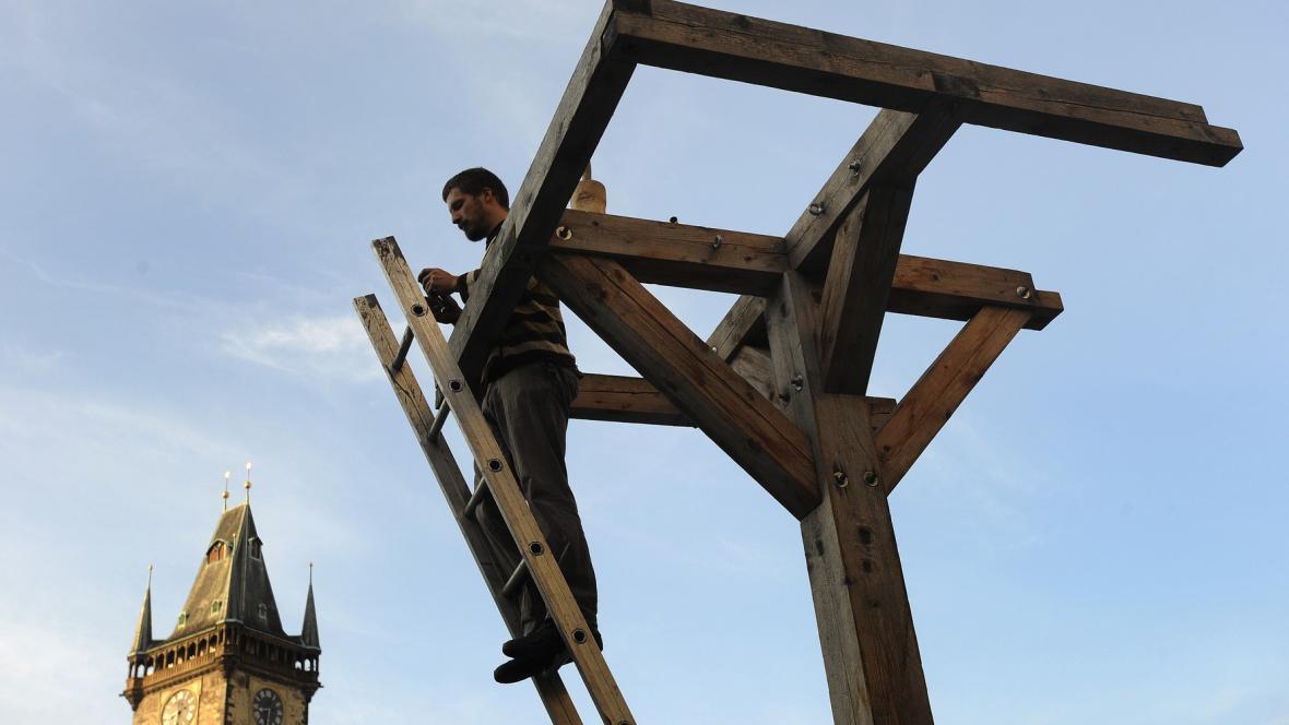 Skulptury Sochařského studia Bubec (Staroměstké náměstí)