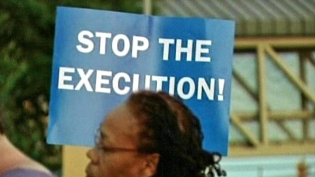 Demonstrace na podporu Troye Davise