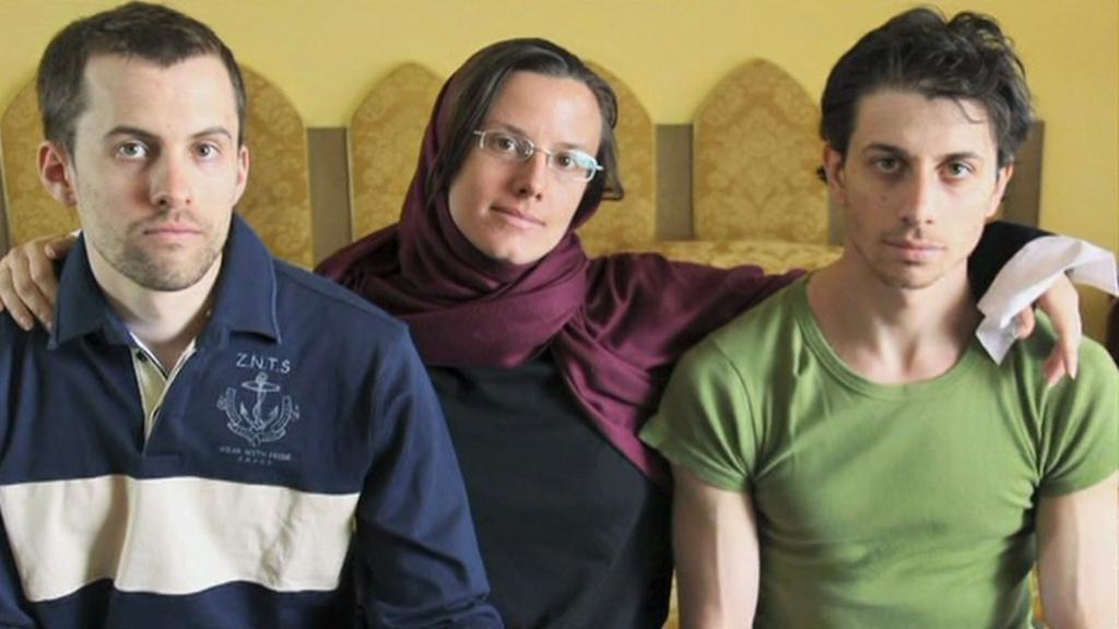 Shane Bauer, Josh Fattal a Sarah Shourdová